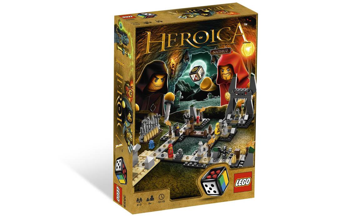 LEGO Games Героика Пещеры Натхуз (3859)