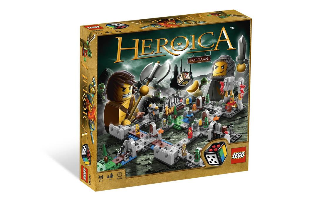 LEGO Games Героика Замок Фортаан (3860)