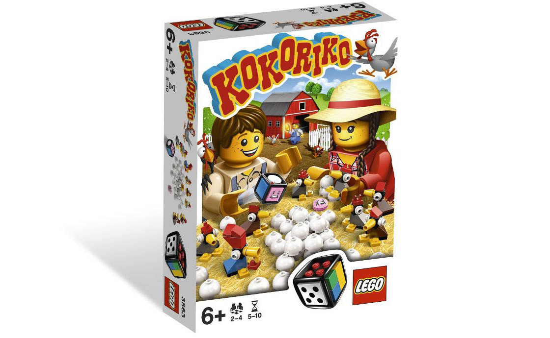 LEGO Games Кукареку (3863)