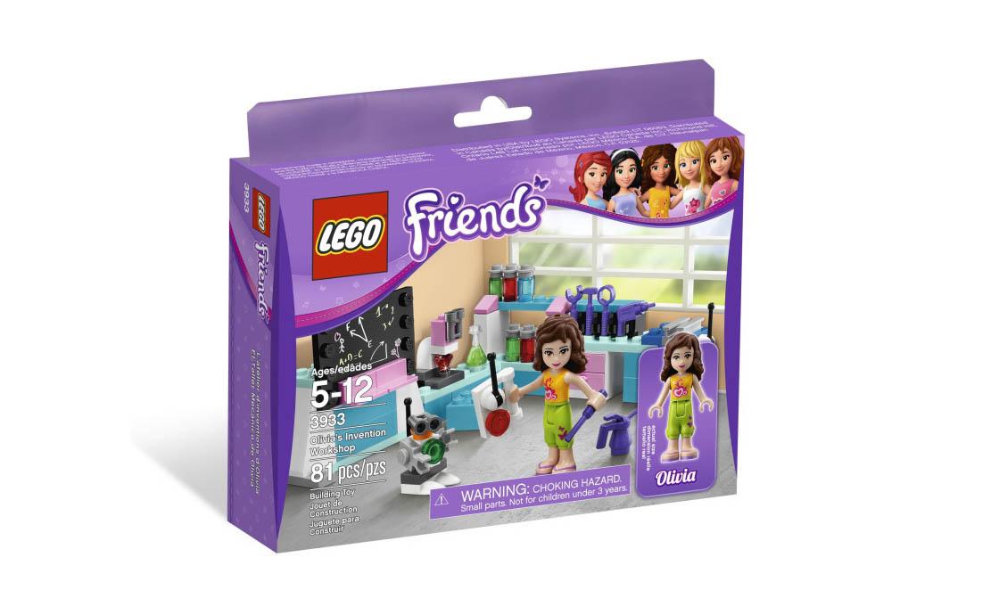 LEGO Friends Лаборатория Оливии (3933)