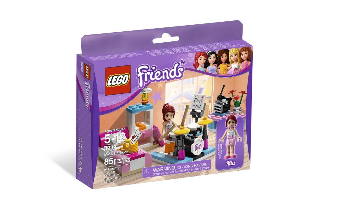 LEGO Friends Комната Мии (3939)
