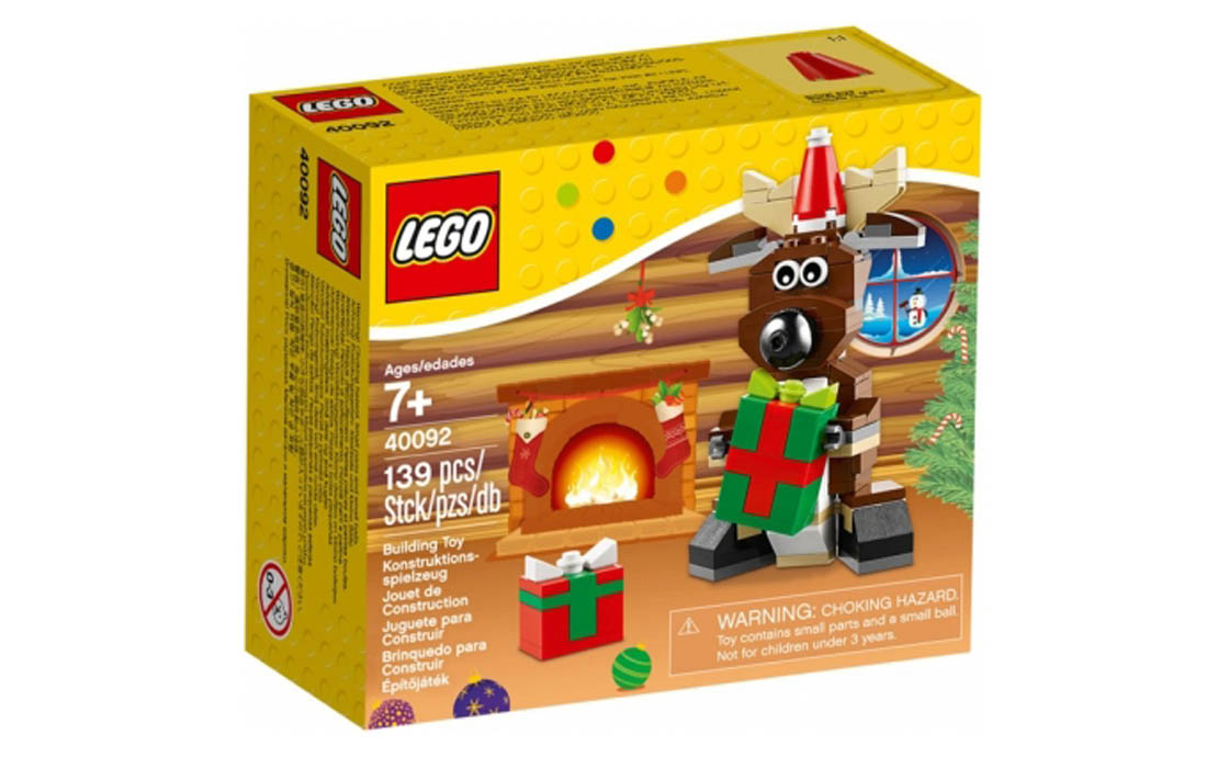 LEGO Accessories Новогодний оленёнок (40092)
