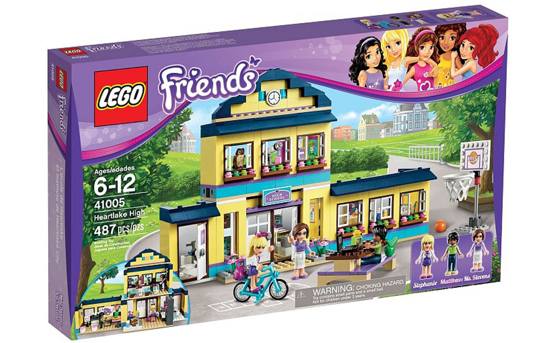 LEGO Friends Школа Хартлейк (41005)
