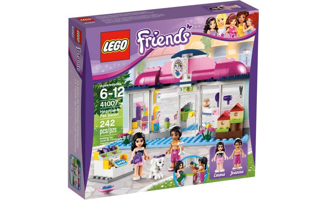 LEGO Friends Спа-салон для питомцев (41007)