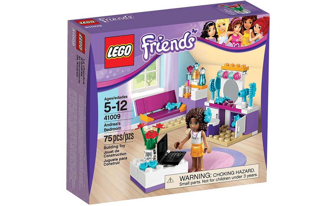 LEGO Friends Спальня Андреа (41009)