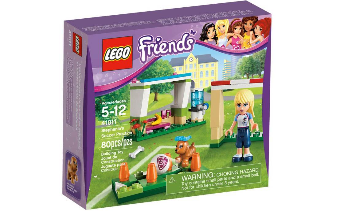 LEGO Friends Футбольная тренировка Стефани (41011)