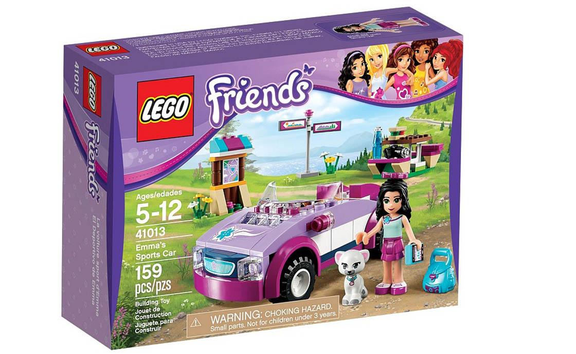 LEGO Friends Спортивная машина Эммы (41013)