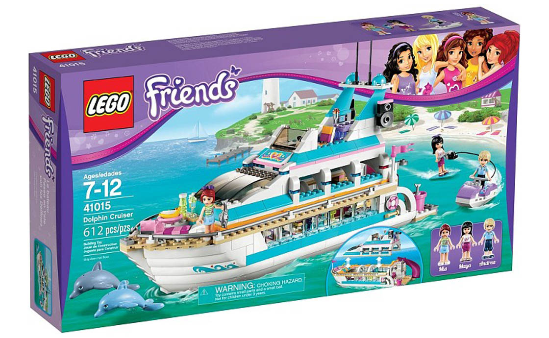 LEGO Friends Путешествие с дельфинами Friends (41015)