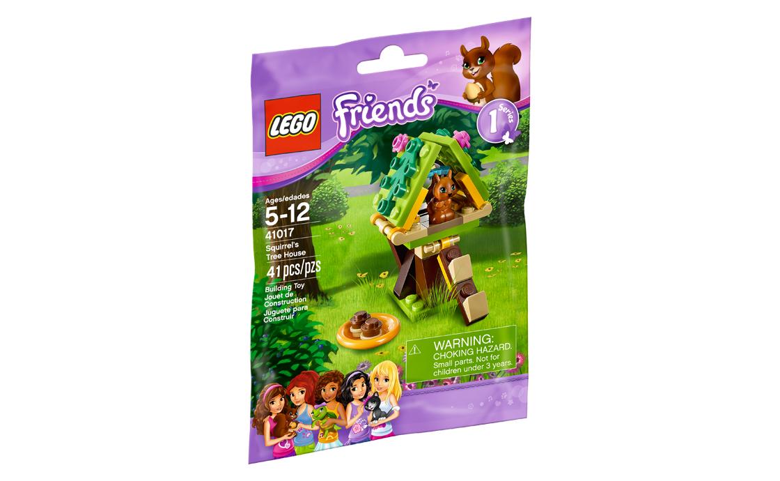 LEGO Friends Домик белки на дереве (41017)