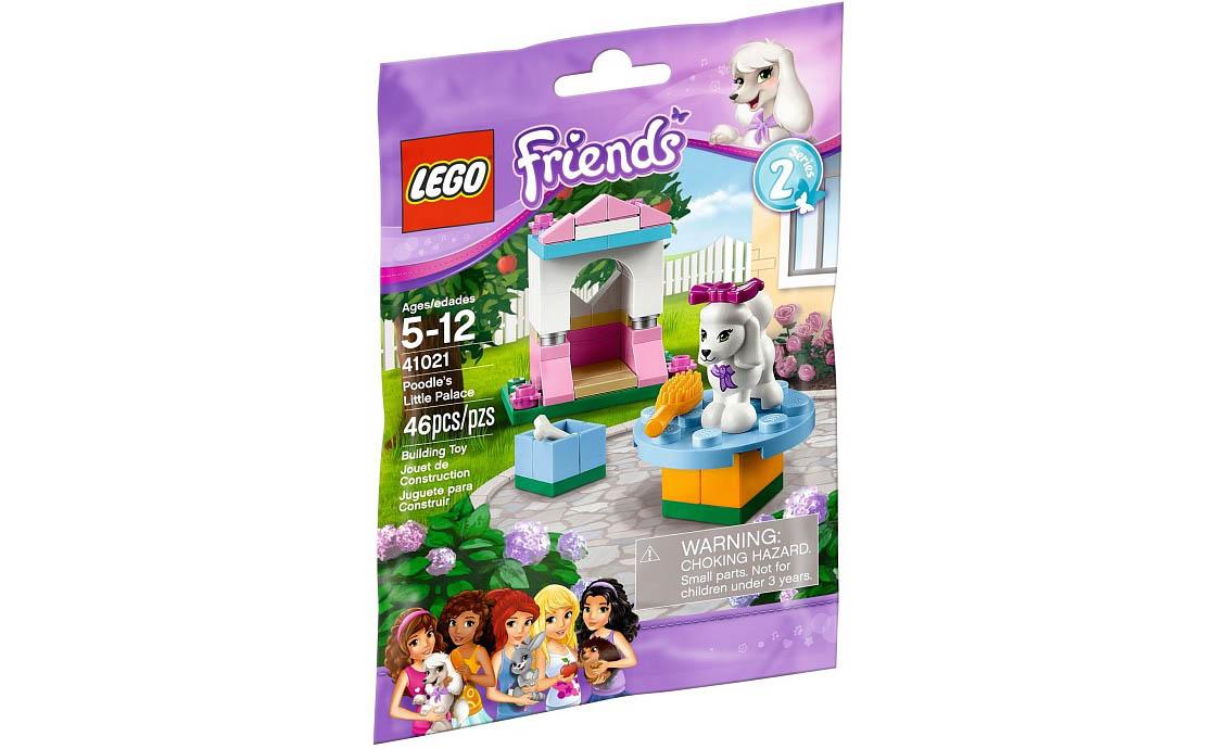 LEGO Friends Маленький дворец пуделя (41021)
