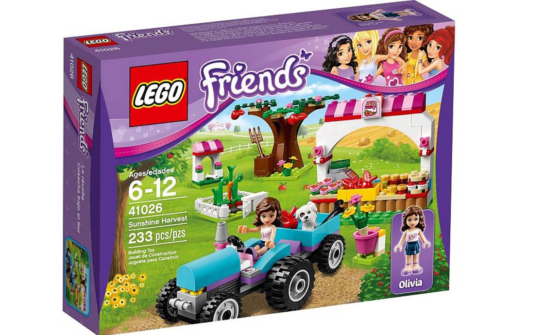 LEGO Friends Сбор урожая вместе с Оливией (41026)