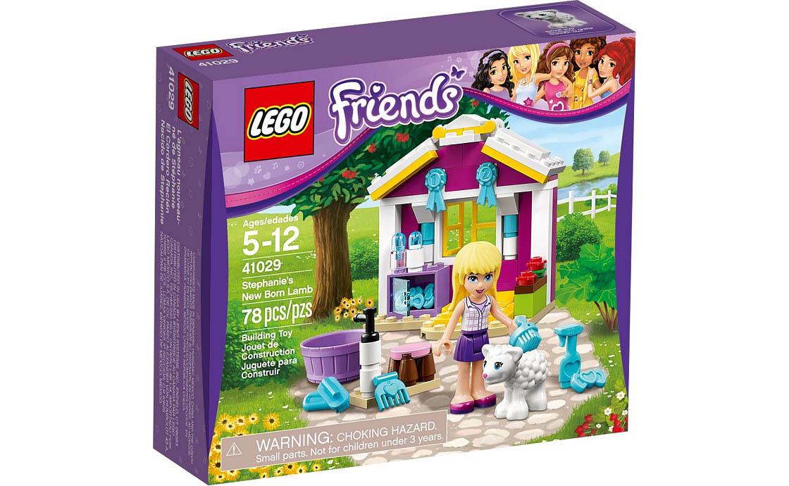 LEGO Friends Стефани и новорожденный ягненок Friends (41029)