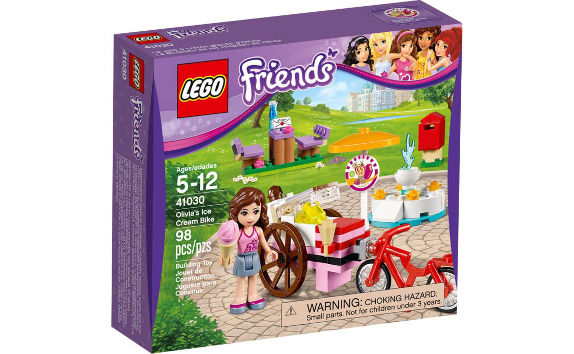 LEGO Friends Велосипед с мороженым Оливии (41030)