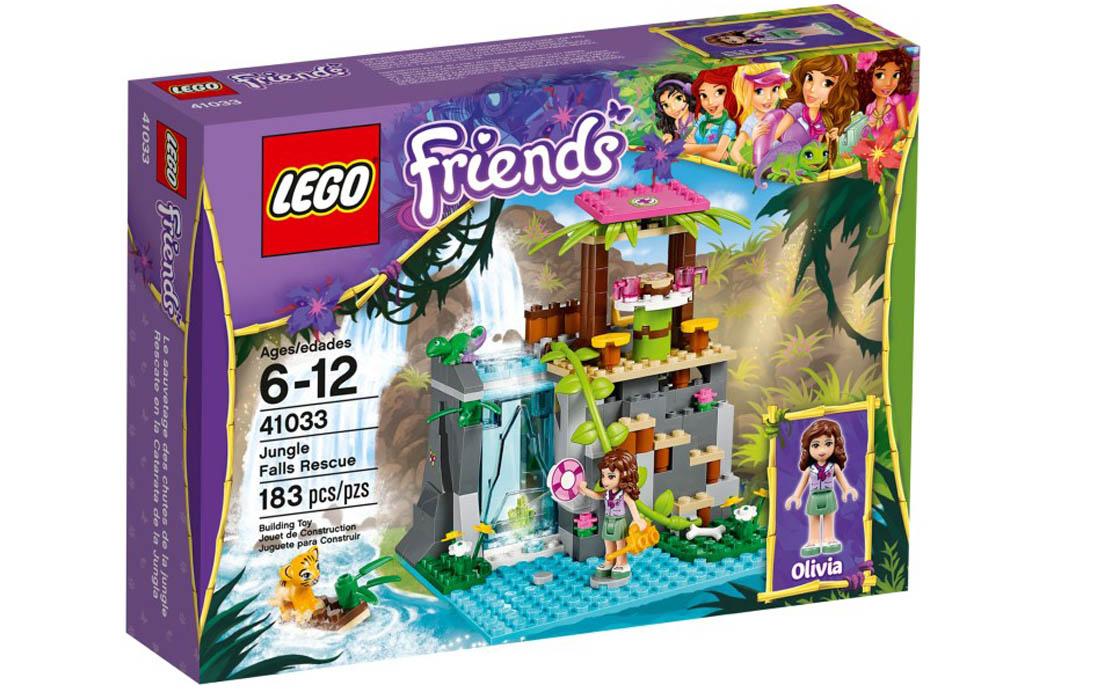LEGO Friends Спасение от водопада (41033)
