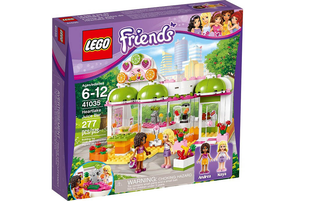 LEGO Friends Фреш-бар Хартлейка (41035)