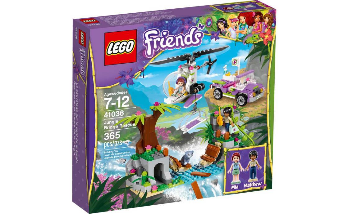 LEGO Friends Спасение на мосту в джунглях (41036)