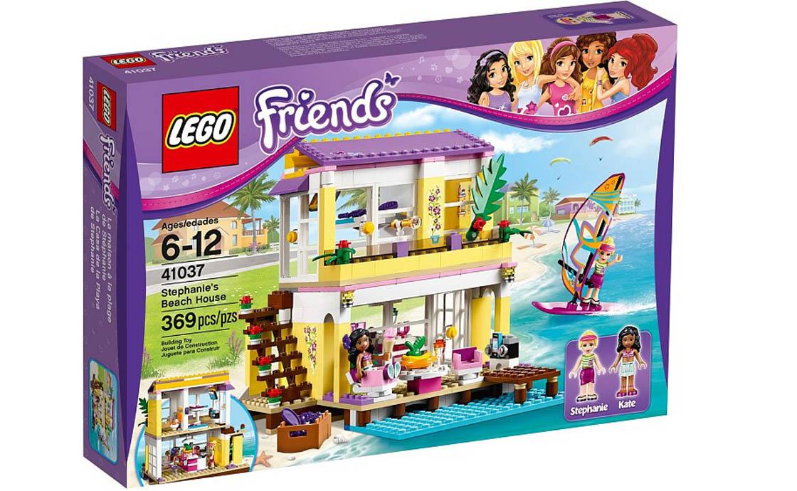 LEGO Friends Пляжный дом Стефани (41037)
