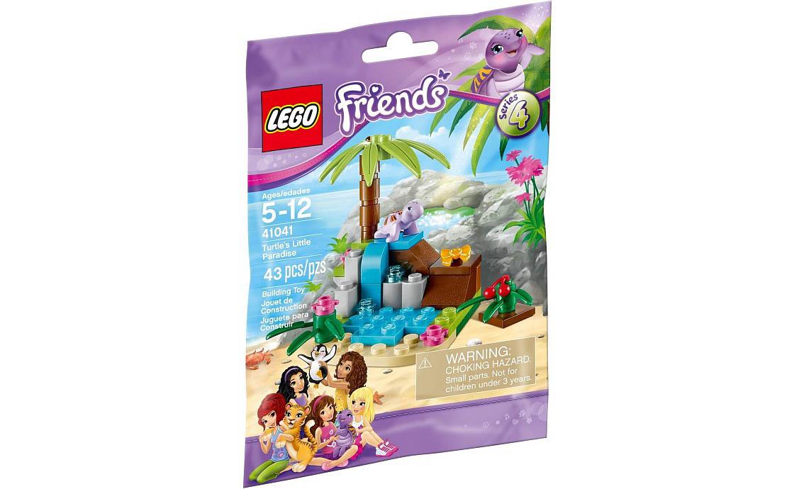 LEGO Friends Райский домик черепашки (41041)