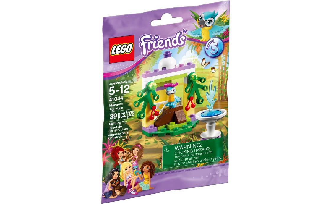 LEGO Friends Фонтанчик попугая (41044)
