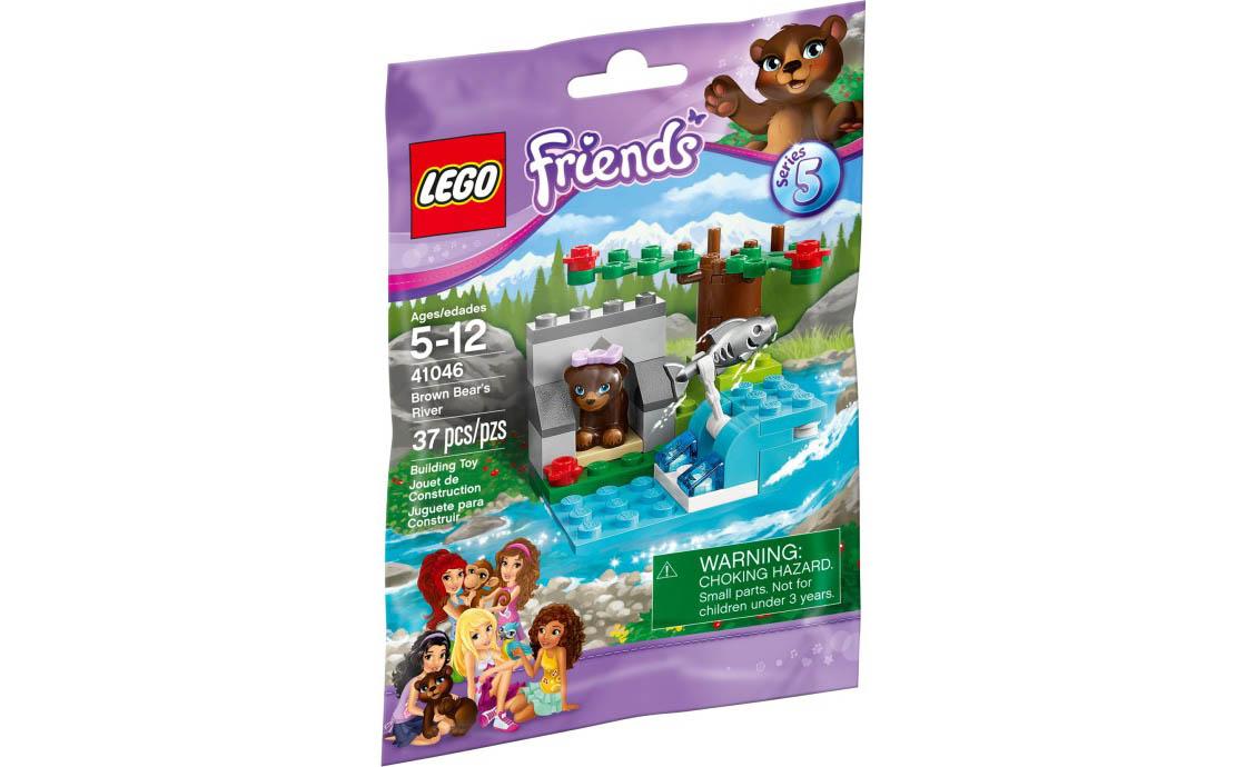 LEGO Friends Речная пещера медвежонка (41046)