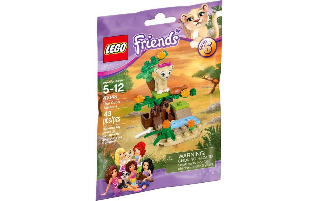 LEGO Friends Савана львёнка (41048)