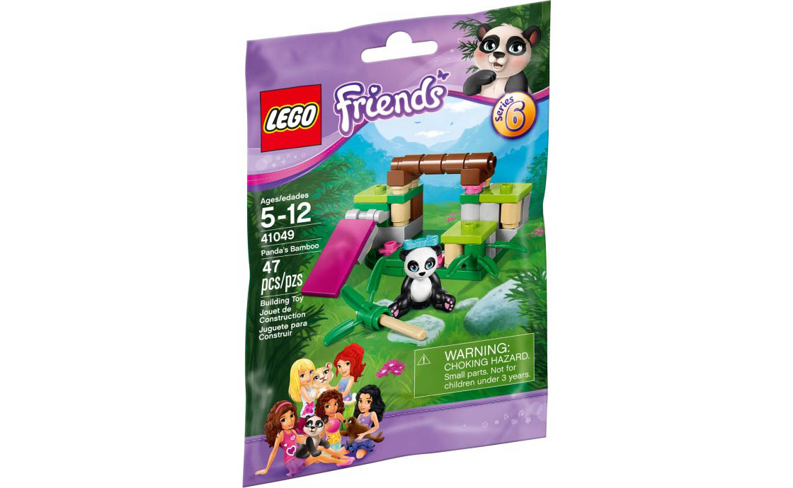 LEGO Friends Бамбук панды (41049)