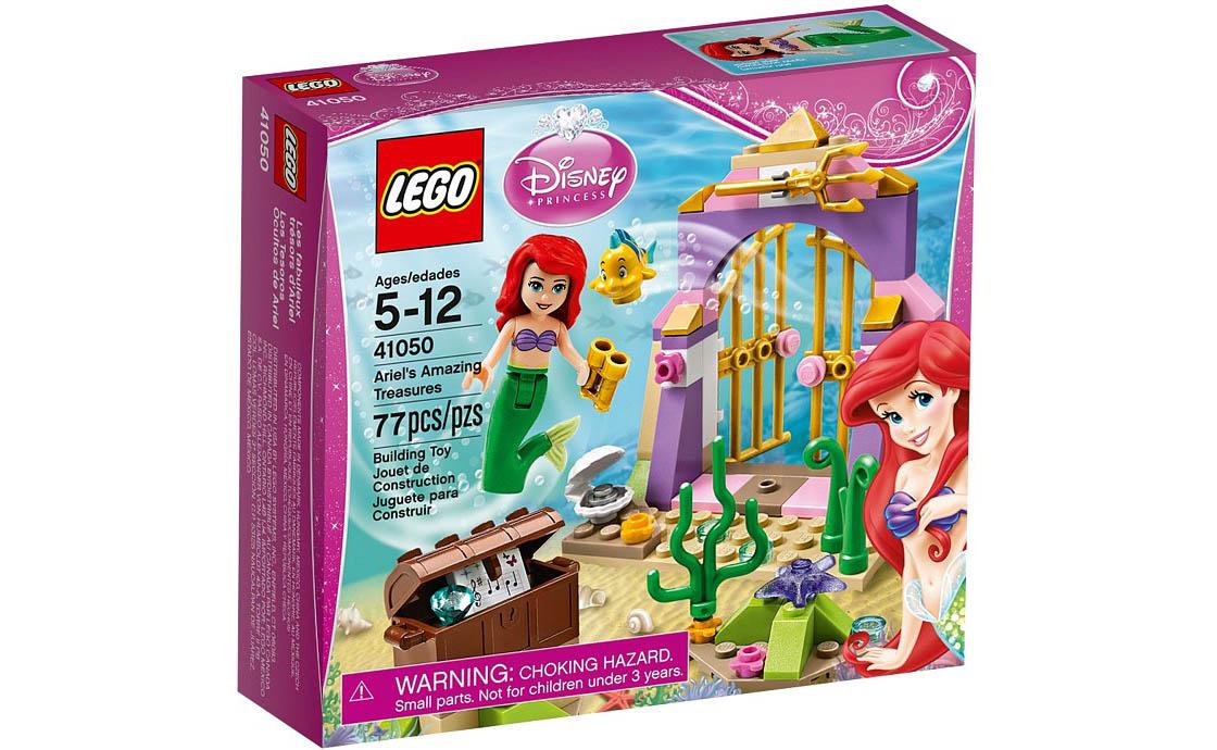 LEGO Disney Princess Сокровища Ариэль (41050)