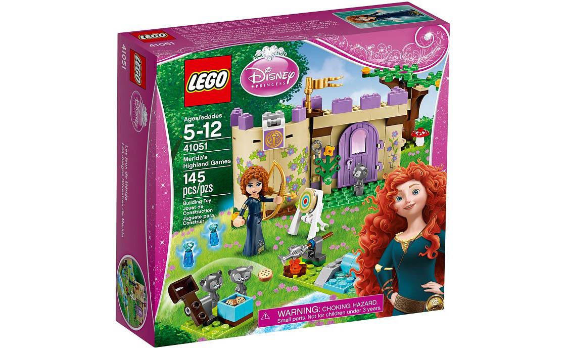 LEGO Disney Princess Горные игры Мериды (41051)