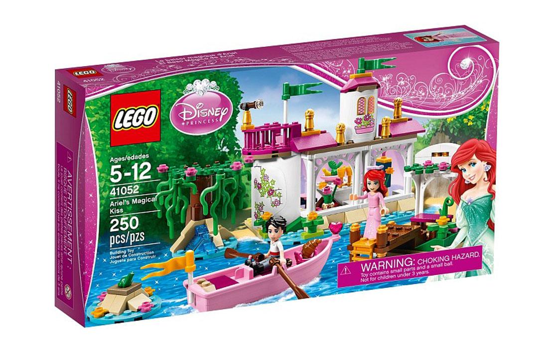 LEGO Disney Princess Волшебный поцелуй Ариель (41052)