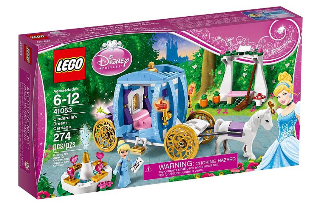 LEGO Disney Princess Волшебная карета Золушки (41053)