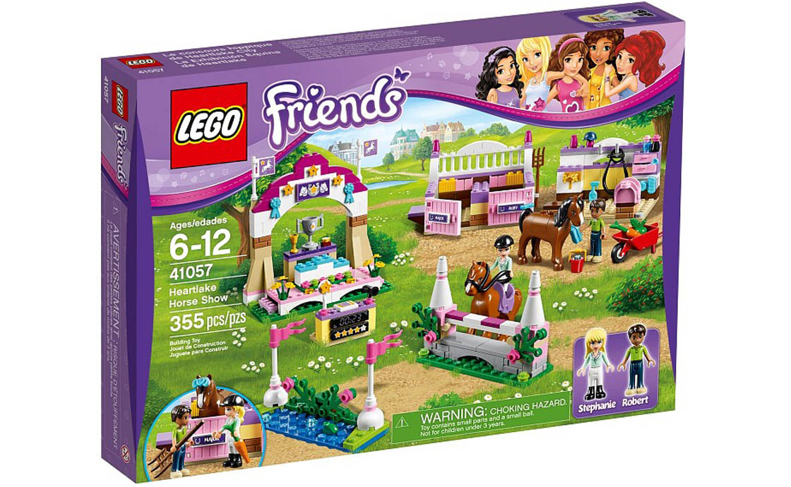 LEGO Friends Выставка лошадей в Хартлейк Сити (41057)