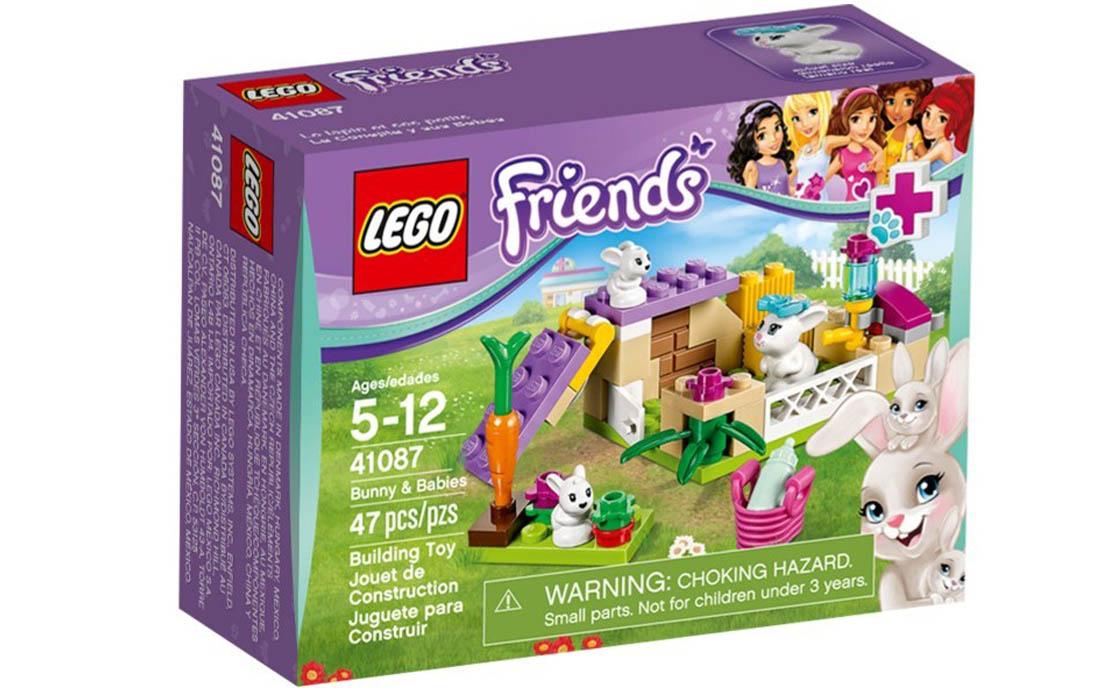 LEGO Friends Зайчик и зайчата (41087)