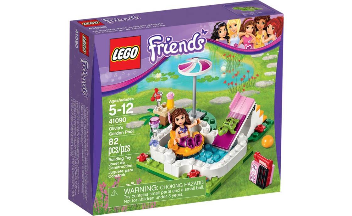 LEGO Friends Бассейн в саду Оливии (41090)
