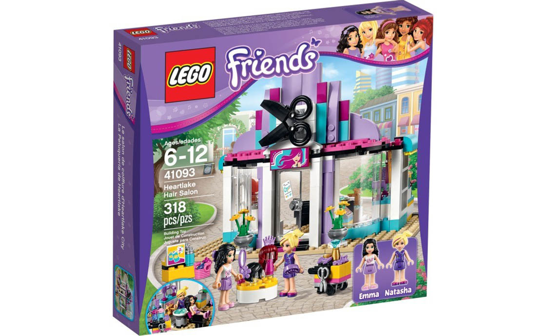 LEGO Friends Парикмахерская в Хартлейк-сити (41093)
