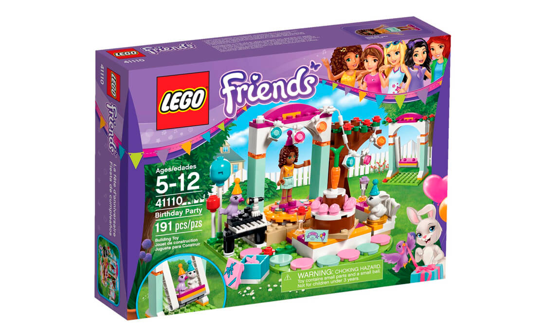 LEGO Friends День народження (41110)