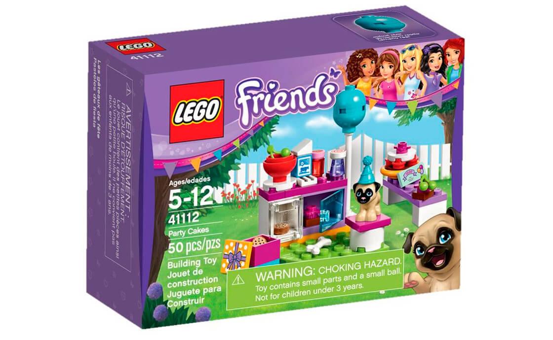 LEGO Friends День народження: тортики (41112)