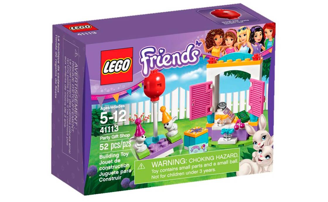 LEGO Friends День народження: магазин подарунків (41113)