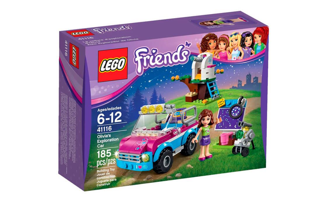 LEGO Friends Дослідницька машина Олівії (41116)