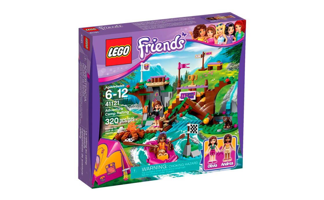 LEGO Friends Спортивний табір: плавання по річці (41121)