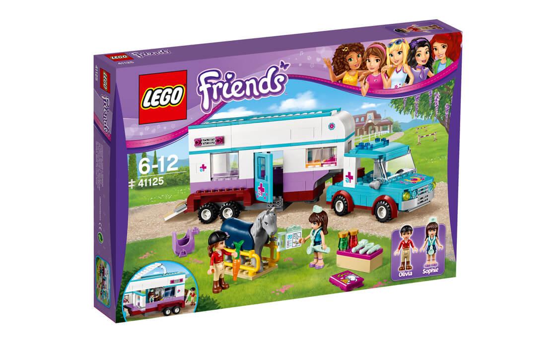 LEGO Friends Кінський трейлер (41125)