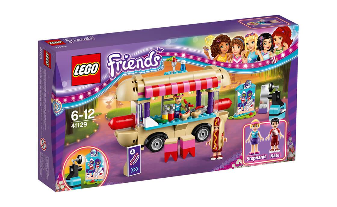 LEGO Friends Парк розваг: фургон з хот-догами (41129)