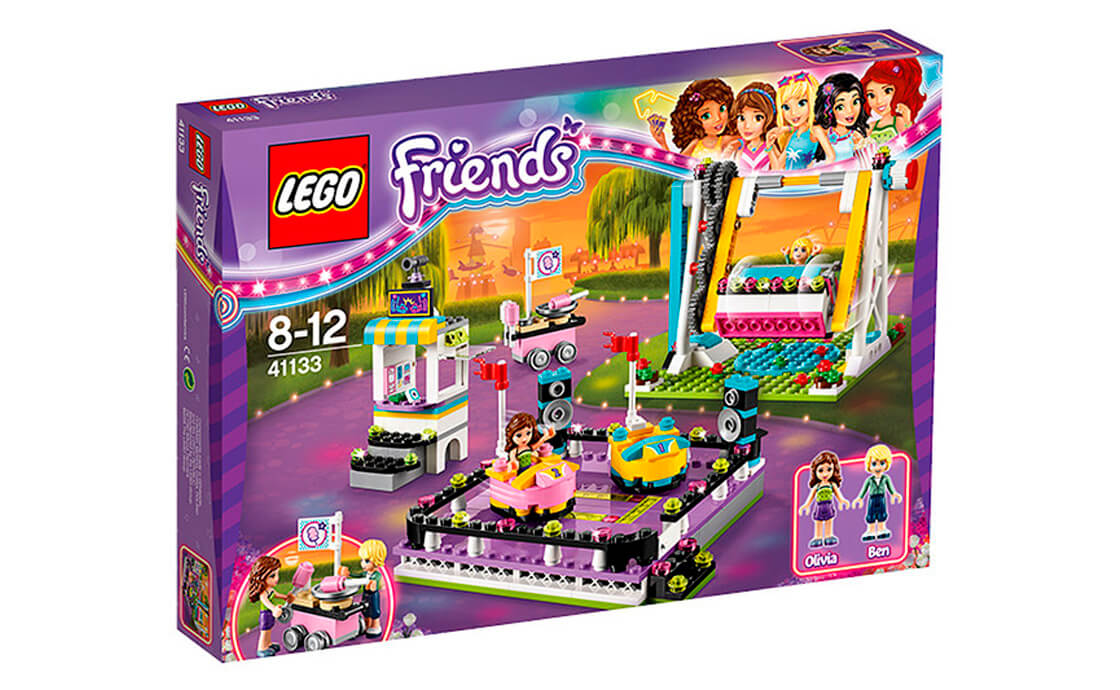 LEGO Friends Парк розваг: автодром (41133)