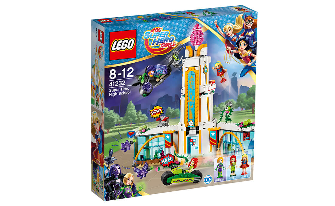 LEGO DC Super Hero Girls Школа супергероїв (41232)