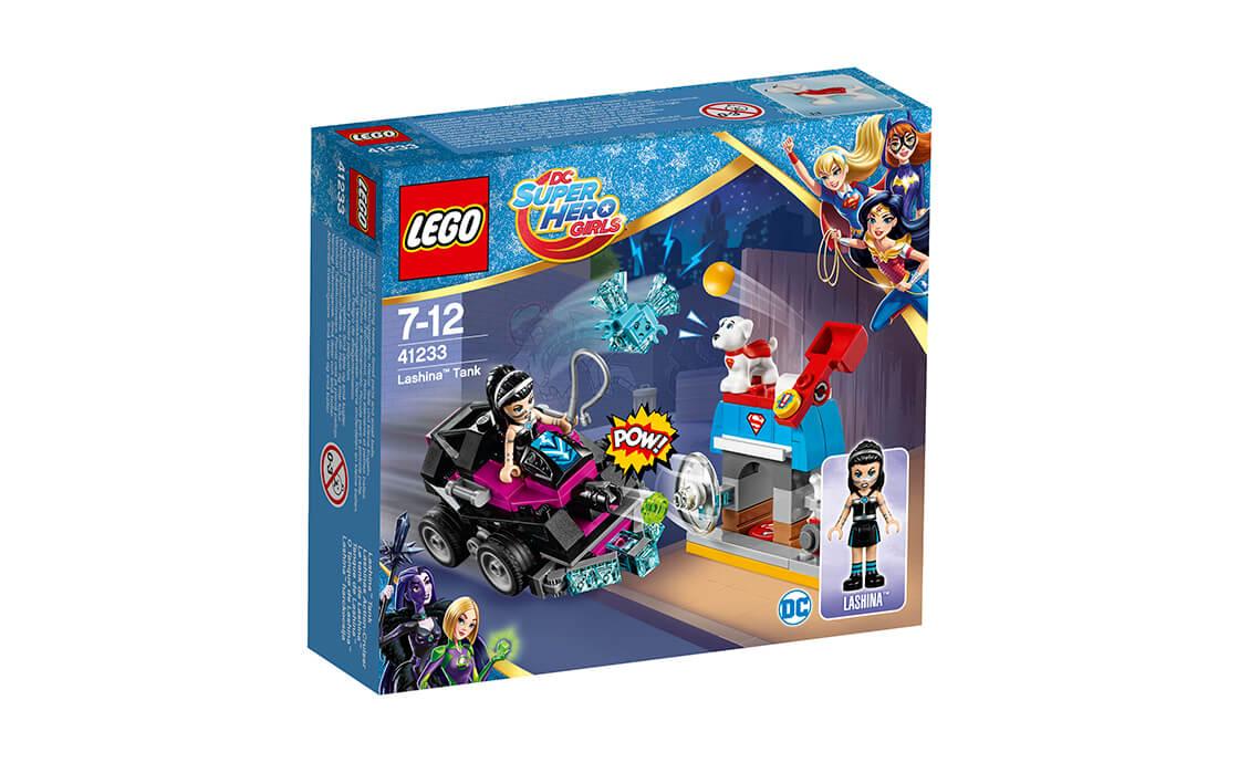 LEGO DC Super Hero Girls танк Лашин (41233)