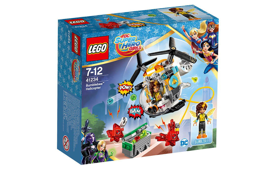 LEGO DC Super Hero Girls Гелікоптер Бамблбі (41234)