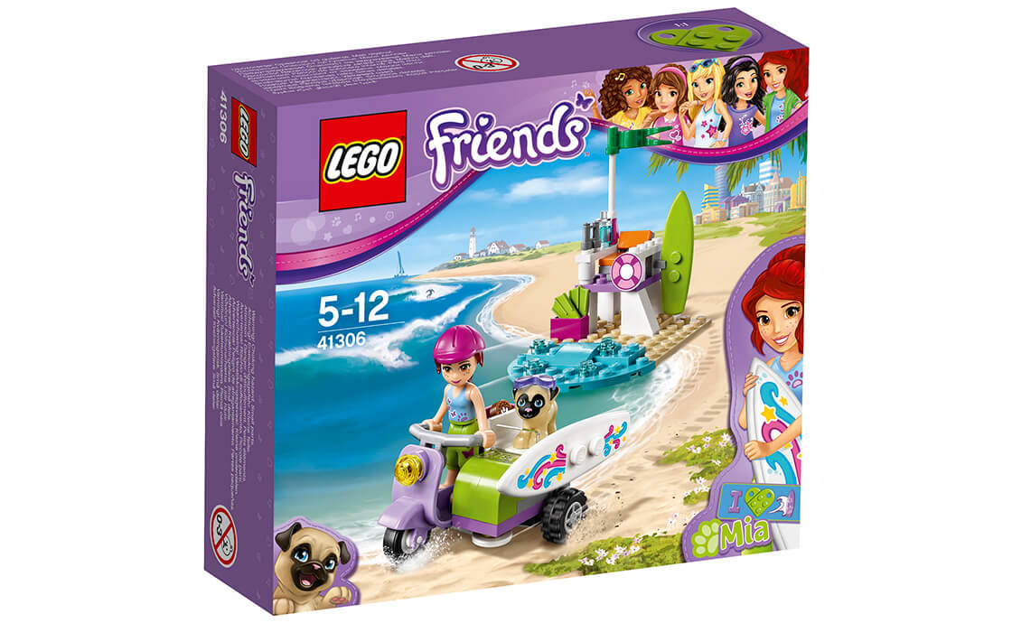 LEGO Friends Пляжний скутер Мії (41306)
