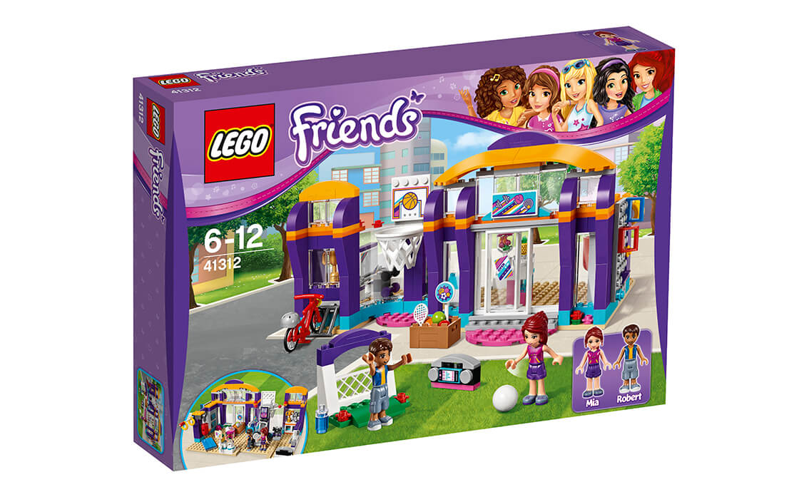 LEGO Friends Спортивний центр Хартлейку (41312)