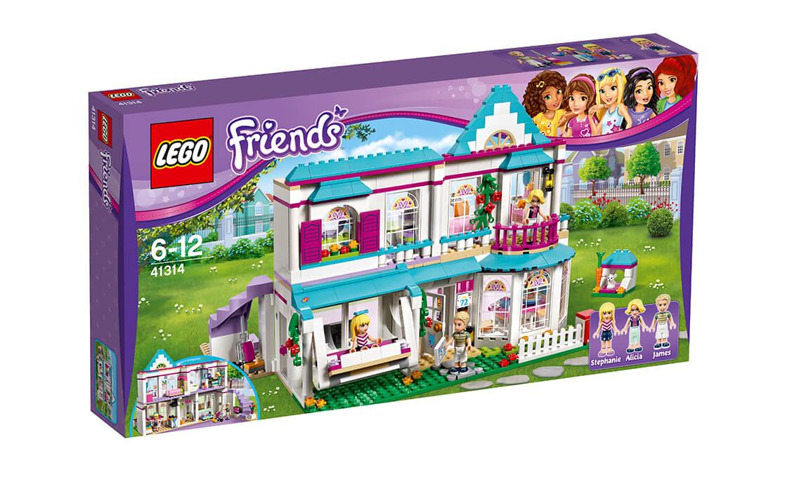 LEGO Friends Дім Стефані (41314)