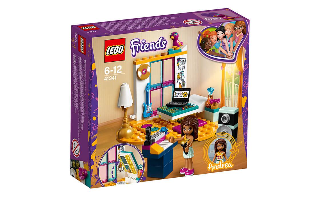 LEGO Friends Комната Андреа (41341)