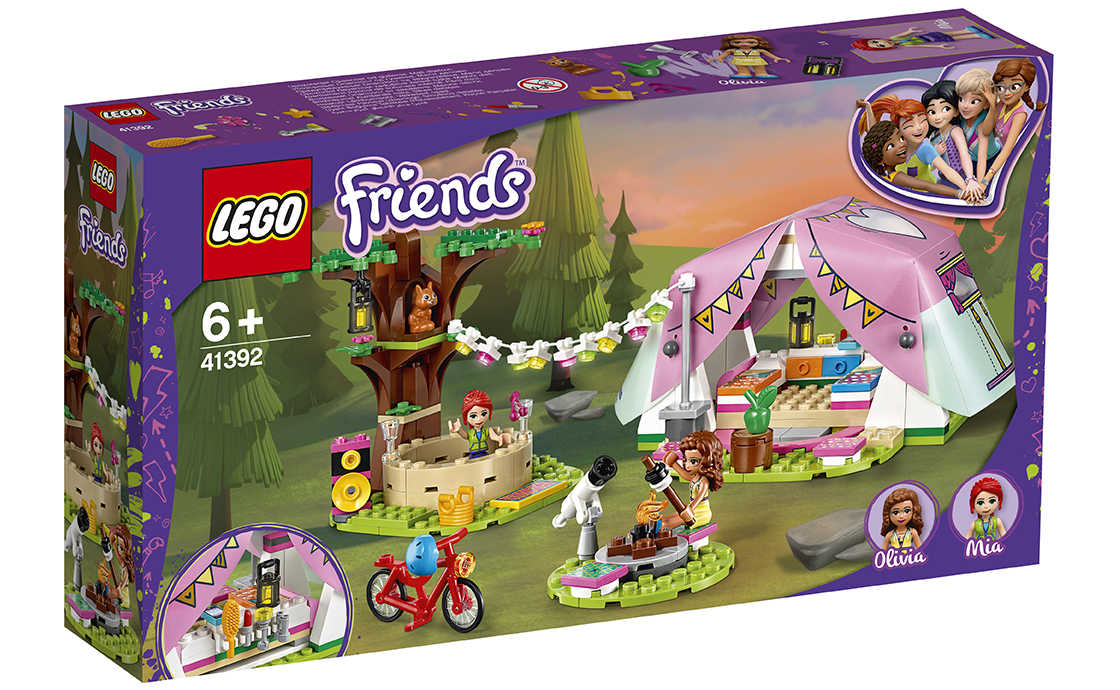 LEGO Friends Роскошный отдых на природе (41392)